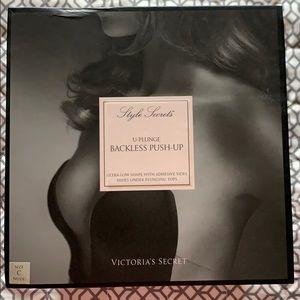Victoria's Secret backless push-up bra
